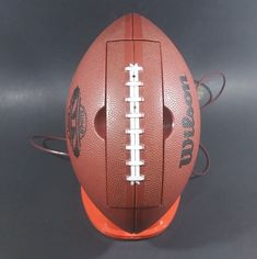 Vintage 1984 Wilson Super Bowl XIX Brown Football Shaped Phone - Working https://treasurevalleyantiques.com/products/vintage-1984-wilson-super-bowl-xix-brown-football-shaped-phone-working #Vintage #1980s #80s #Wilson #Football #Shape #SuperBowl #NFL #SuperBowlXIX #Phones #Sports #Collectibles #AmericanFootball #ManCave #GamesRoom #Miami #Dolphins #SanFrancisco #49ers