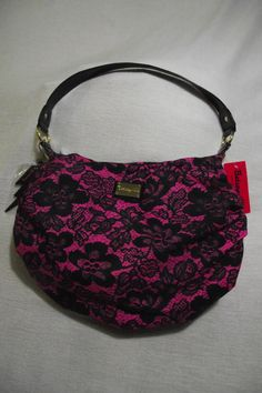 Just bought this Betsey Johnson hobo bag on ebay! I sure do love stuff... and things.