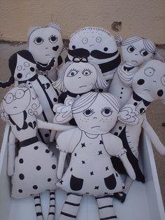 my chocha dolls by FabLAB Atelier, via Flickr