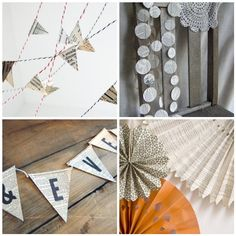 Crossing the Bugger-Dixon Line: Book Themed Party Inspiration {and Stella + Hodge Winner} 21st Party, Tea Party, Book Crafts, Paper Crafts, Book Birthday Parties, 5th Birthday, Page Decoration, Book Decorations, Retirement Parties