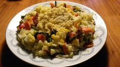 Una ricetta svuota frigo. Il classico cous cous tunisino con verdure autunnali #svuotafrigo #vegetariano #couscous