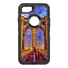 brooklyn-bridge OtterBox defender iPhone 7 case