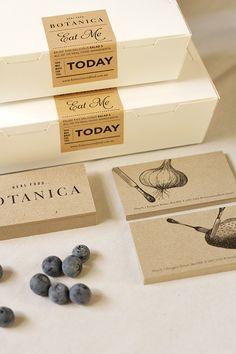 Botanica ~ Real Food by Oh Babushka , via Behance