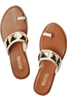 MICHAEL Michael Kors Persia studded leather sandals