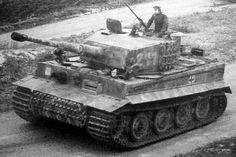 Waffen SS Panzerkampfwagen VI. Tiger Normandie