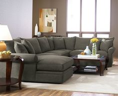 Like the style and color of this sectional
