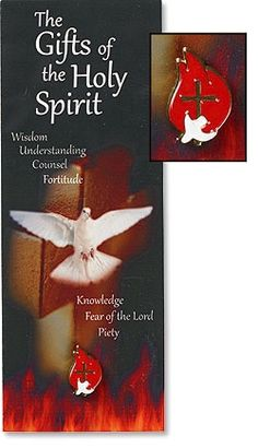 Gifts of the Spirit Lapel Pins with Bookmark