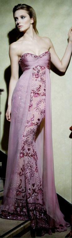 ZUHAIR MURAD SUMMER  jean dress#2dayslook #maria257893 #jeansfashion  ww.2dayslook.com