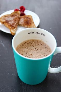 Stew or a Story: Cocoa Almond Butter Latte