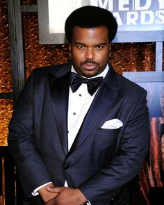 "Craig Robinson - so effortlessly cool, you'd think he actually would carry around his very own personalized ""Mr. Robinson"" towel just like he did in This Is The End. Craig Robinson, In Theaters Now, Wall Of Fame, Tyler Perry, Screenwriting, Funny People, Big Boys, Comedians, Boy Fashion"