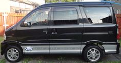 kei car tiny micro camper van this is a japanese import 7 seater van mpv that has been