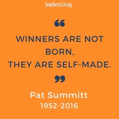 As the most winningest coach in Division I history, Pat Summitt is a legend whose life will continuously be celebrated.
