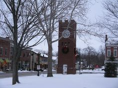 Downtown in Hudson, Ohio by mmlander, via Flickr