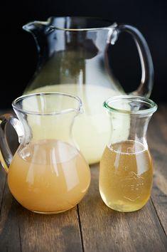 ginger limeade (ginger syrup recipe)