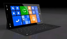 This Surface Phone Concept Features 12MP Camera, Mini Touch Cover, 720p Super AMOLED+ Display & More
