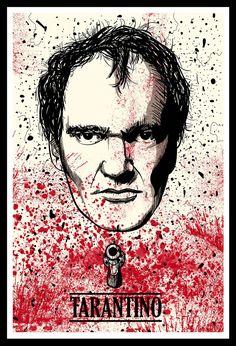 Quentin tarantino - collection debbye art film movie, film p Film Movie, Cinema Movies, Indie Movies, Quentin Tarantino Films, Incredible Film, Posters Vintage, Land Art, Movie Poster Art, Film Director