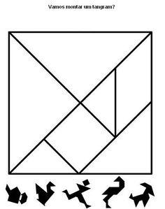 Várias sugestões de atividades utilizando o Tangram:     O que o aluno poderá aprender com estas atividades:   Conhecer a origem do Tangr...