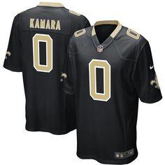 0b2cf9e28 Alvin Kamara New Orleans Saints Nike 2017 Draft Pick Game Jersey - Black  New Orleans Saints
