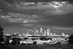 Minneapolis Skyline by Jvstin, via Flickr