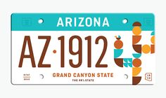 The State Plates Project by Jonathan Lawrence | Inspiration Grid | Design Inspiration