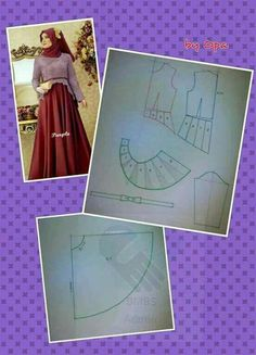 Our social Trends Sewing Paterns, Dress Sewing Patterns, Clothing Patterns, Abaya Pattern, Gown Pattern, Beige Maxi Dresses, Moslem Fashion, Muslim Dress, Diy Origami