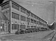 Breda De Tramsingel met de ETNA fabriek begin jaren '30