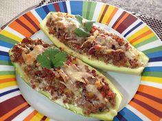 Vualá: Calabacines rellenos de carne y vegetales
