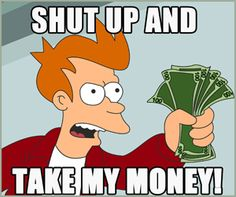 Shut Up And Take My Money is an online store that compiles the best in the