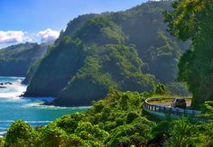 Road to Hana - Maui. Recognized as one of the most beautiful islands on Earth, Maui has a region world renowned for its own astonishing splendor: the Maui Hana Coast.  Plan to take most of a day for the gorgeous drive with stops along the way.  ASPEN CREEK TRAVEL - karen@aspencreektravel.com
