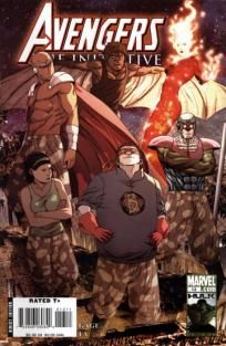 Avengers - The Initiative #13 Christos Gage Steve Uy ---> shipping is $0.01!!!