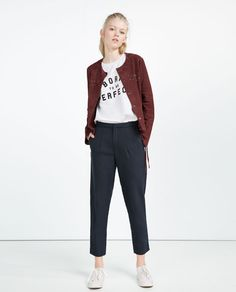 ZARA - WOMAN - BAGGY TROUSERS