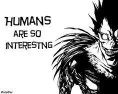 Death Note, Ryuk (I'm pretty sure that's how you spell it)