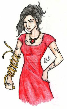 Isabelle Lightwood (I did not draw this)