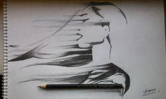 LET'S ESCAPE pencil work (8B)