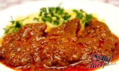 sm - hovädzie mäso v marináde No Salt Recipes, Cooking Recipes, Good Food, Yummy Food, Czech Recipes, Hungarian Recipes, What To Cook, Food 52, Carne