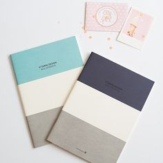 Cute Korean notebooks for sale in my online stationery store. These make the perfect gift!