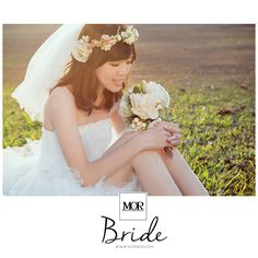 MOR Bride / 莫。新娘  穿上了禮服,妝點了幸福 一個溫柔而美麗誠實的靈魂。 Be the most beautiful Bride. www.morwed.com