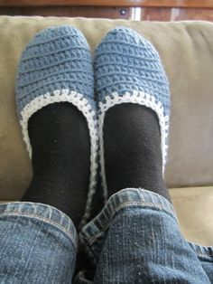 Easy Crochet Slippers! | You Pinspire Me