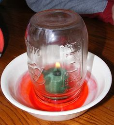 fire and oxygen experiment