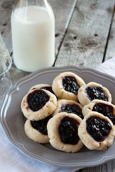 Blueberry Thumbprint Cookies (10).