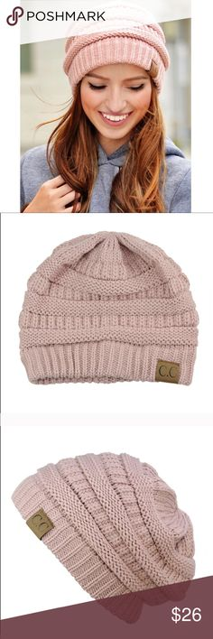C.C. Slouchy Beanie - Rose Pink MSRP $42 C.C. Rose Pink Slouchy Beanie Hat // our 'Hazel' Beanie Welcome the cool autumn mornings in this super chic and versatile beanie. Includes a one size fits all, slouchy fit, rose pink in color  BEANIE HAT Crane Clothing Co. 100% soft acrylic  Measurements: one size fits all Moda Boutique SF modabyboutique  MODA-0111BR Crane Clothing Co. Accessories Hats