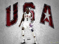 NBA Basketball Team Playing