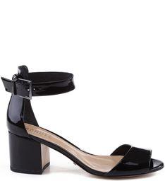 6dbe75696 SANDÁLIA SALTO MÉDIO QUADRADO BLACK Sapatos De Salto Médio, Sapatos De Salto  Baixo, Sandalia