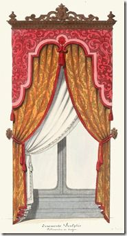 Lambrequins - possible idea for my new Eastlake window cornices!