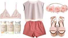 """""""sailing shorts"""" by perkywallflower ❤ liked on Polyvore"""