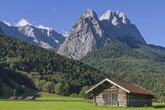 Zugspitze bij Garmisch-Partenkirchen in Beieren