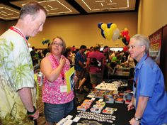 Deb Wills greets Disney Fans at the PNW Mouse Meet