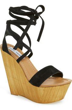 Pin for Later: 24 Leg-Lengthening Shoes You Can Wear All Summer Long  Steve Madden Plmbeach Platform Wedge Sandal ($100)