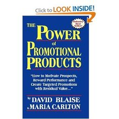 A great way to learn about how powerful a tool promotional products can be to any business' marketing toolbox. http://www.levpromotions.com/FA9AB838-C235-9565-1430AAB81DE86E7F.cfm?