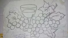 Pincel que brilha : Riscos da vídeo aula. Corpus Christi, Crochet, Creative, Print Coloring Pages, Crochet Doily Rug, Needlepoint Patterns, Fun Diy Crafts, Flower Baskets, Fruits And Vegetables